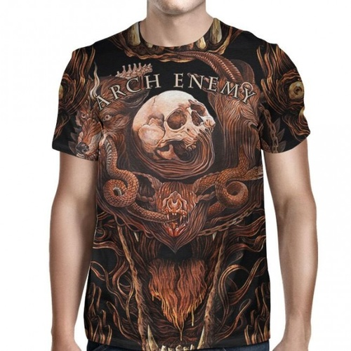 Arch Enemy Will To Power All Over Shirt [Size: M]