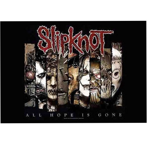 Slipknot Fractions Poster Flag
