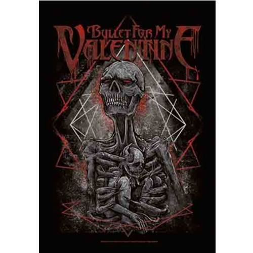 Bullet For My Valentine Skeleton Man Poster Flag