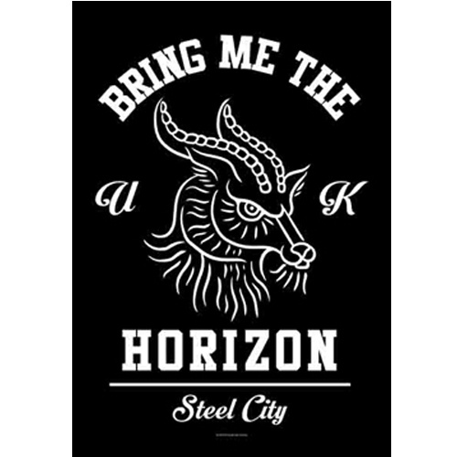 Bring Me the Horizon Steel City Poster Flag