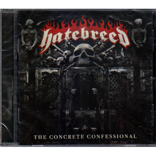 Hatebreed The Concrete Confessional CD