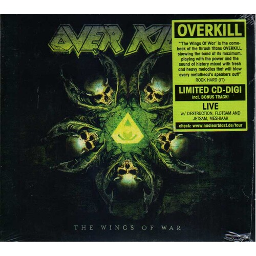 Overkill The Wings Of War CD