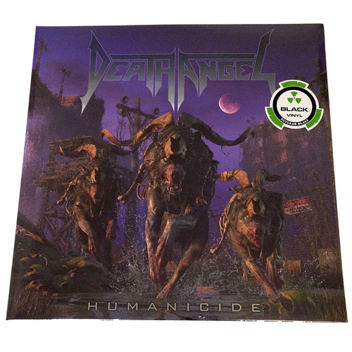 Death Angel Humanicide LP Vinyl Record Limited Edition