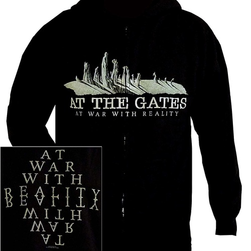At The Gates At War With Reality Hoodie [Size: M]