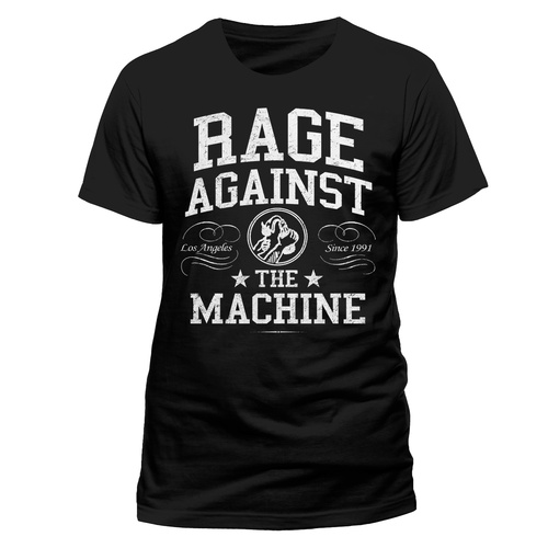 Rage Against The Machine Crown College Shirt [Size: S]