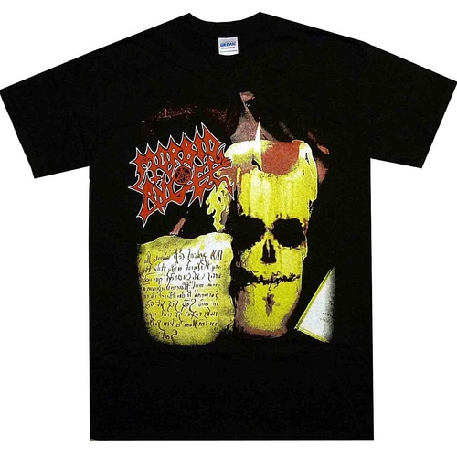 Morbid Angel Covenant Candle Tour Shirt [Size: S]