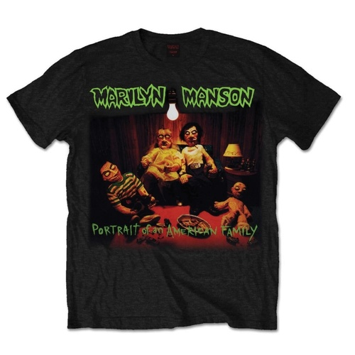 Marilyn Manson American Family Shirt [Size: S]