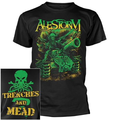 Alestorm Trenches And Mead Shirt [Size: S]