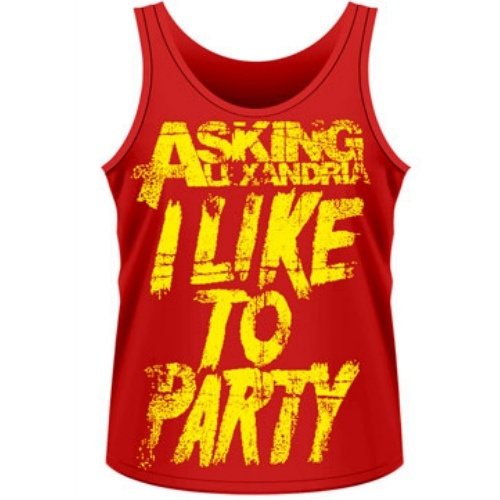 Asking Alexandria I Like To Party Tank Top [Size: S]