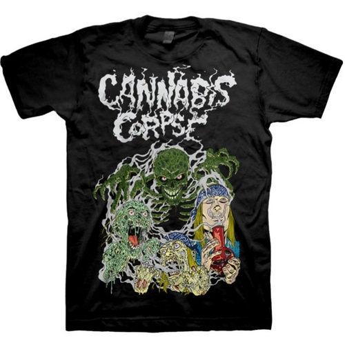 Cannabis Corpse Ghost Ripper Shirt [Size: S]