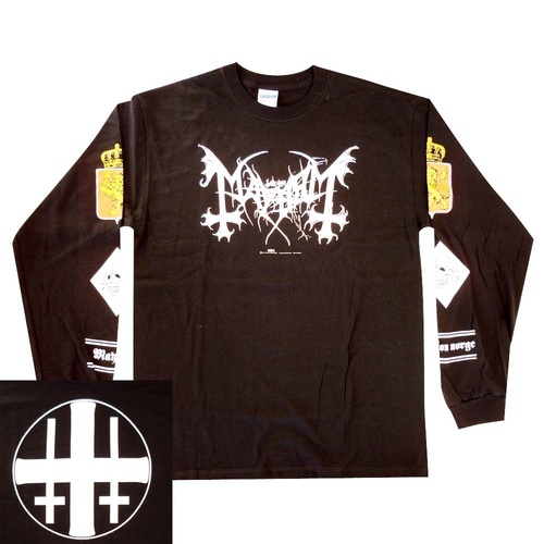 Mayhem Legion Norge Long Sleeve Shirt [Size: M]