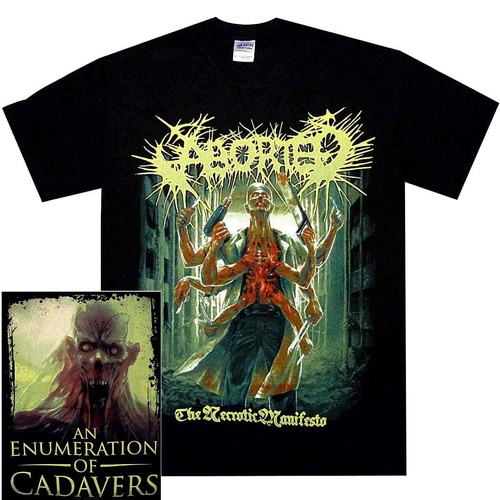 Aborted Necrotic Manifesto Shirt [Size: S]