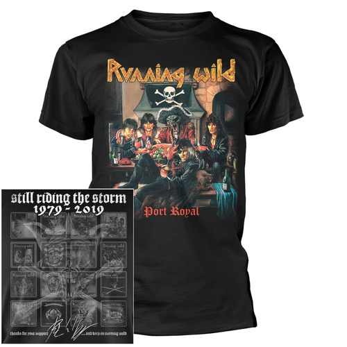 Running Wild Port Royal Shirt [Size: S]