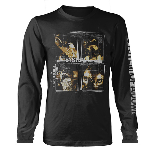 System Of A Down Face Boxes Long Sleeve Shirt [Size: XL]