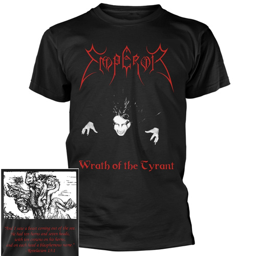Emperor Wrath Of The Tyrant Shirt [Size: S]