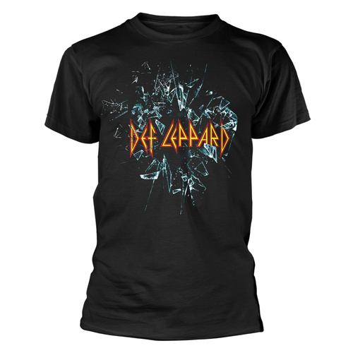 Def Leppard Shattered Glass Shirt [Size: S]