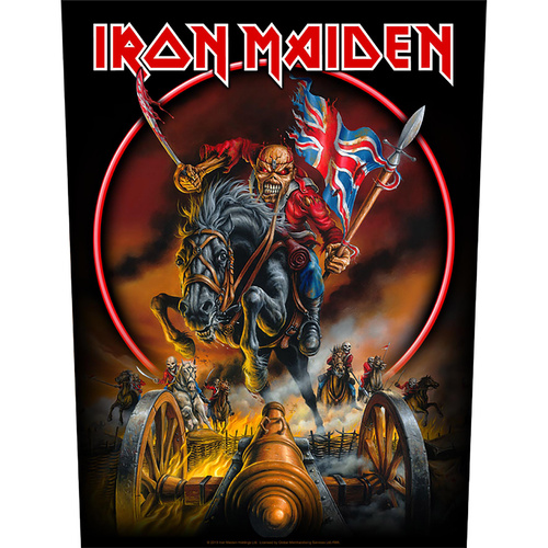 Iron Maiden Maiden England Back Patch