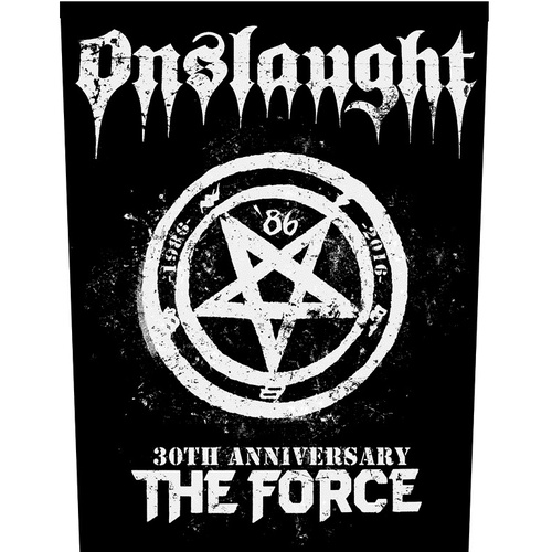 Onslaught The Force 30th Anniversary Back Patch