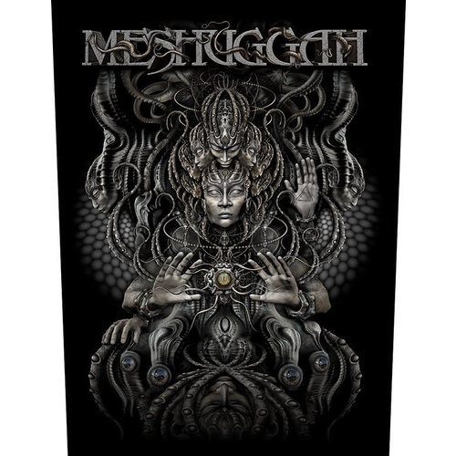 Meshuggah Musical Deviance Back Patch