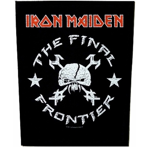 Iron Maiden The Final Frontier Vintage Skull Back Patch