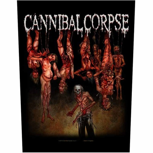 Cannibal Corpse Torture Back Patch