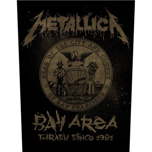 Metallica Bay Area Thrash Back Patch