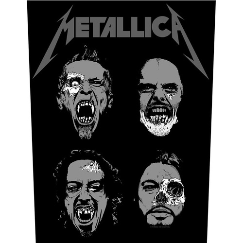 Metallica Undead Back Patch