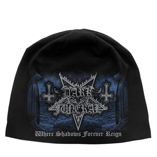 Dark Funeral Where Shadows Forever Reign Jersey Beanie Hat