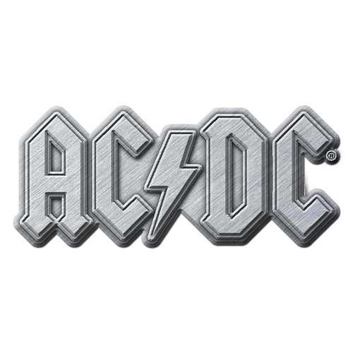 AC/DC Logo Metal Pin Badge