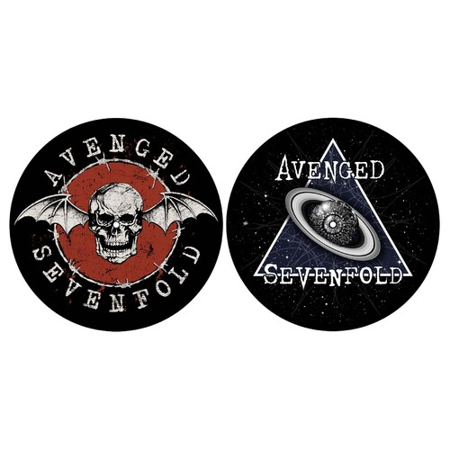 Avenged Sevenfold Skull Space Slipmat Set