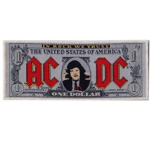 AC/DC Bank Note Patch