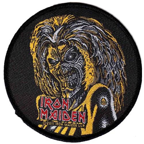 Iron Maiden Killers Face Round Patch