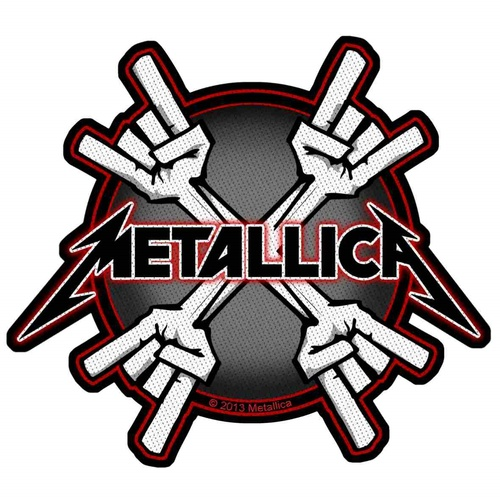 Metallica Metal Horns Patch