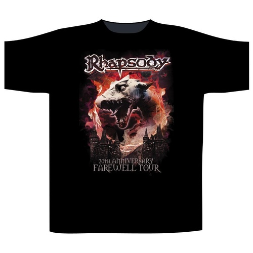 Rhapsody Dragon Head Shirt [Size: L]
