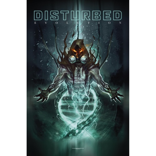 Disturbed Evolution Poster Flag