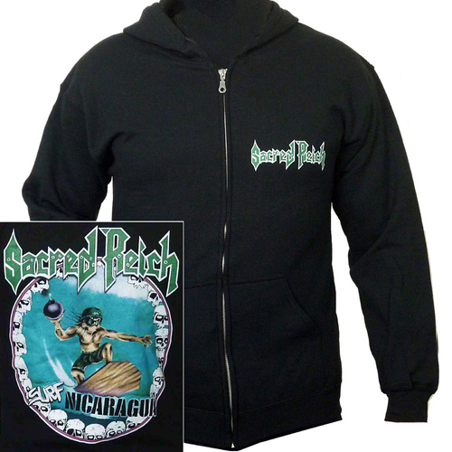 Sacred Reich Surf Nicaragua Zip Hoodie [Size: M]