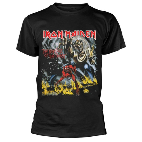 Iron Maiden Number Of The Beast Classic Shirt [Size: S]