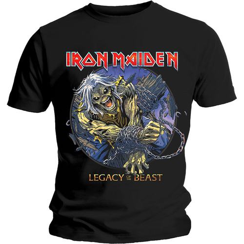 Iron Maiden Legacy Of The Beast Chained Eddie Shirt [Size: M]
